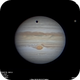 Jupiter, Ganymede and shadow.,                                Javier_Fuertes