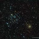 M35 / NGC 2168 w/NGC 2158,                                Ron Bokleman