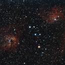 IC 410, IC 405 and φ Aurigae,                                Lorenzo Scagnolari