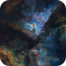 Carina Nebula from Telescope Live,                                Mauricio Christiano de Souza