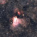 M17 - Swan Nebula,                                Mateusz Kulikowski
