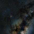 Scorpius and Milky Way,                                Steve de Lisle