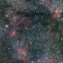 Nebula between the constellation Cepheus and Cassiopeia,                                Sergej Kopysov