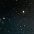 Messier 77 and NGC 1055,                                Lawrence E. Hazel