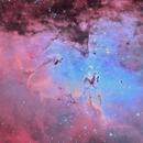 M16-la nébuleuse de l'aigle-HOO,                                astromat89
