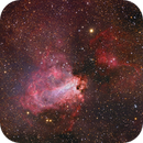 M17 - Deep Sky West Remote Observatory - AP-175,                                Deep Sky West (Ll...