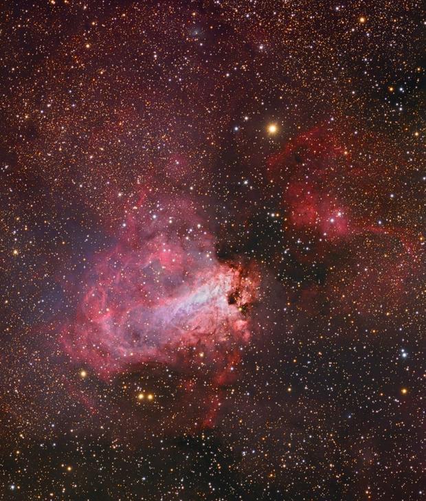 M17 - Deep Sky West Remote Observatory - AP-175,                                Deep Sky West (Lloyd)