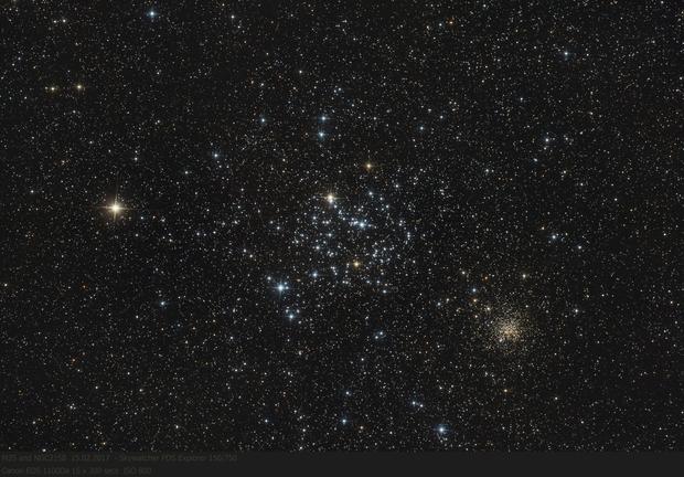 M35 and NGC2158,                                pirx13