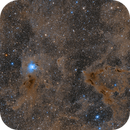 Iris Nebula Widefield in LRGB,                                Jim Lindelien