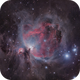 M42 Great nebula in Orion and Running man nebula,                                Jan Veleba