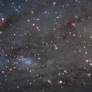 NGC206 Star Cloud in Andromeda Galaxy,                                Muhammad Ali