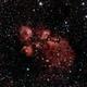 NGC 6334 Cat's Paw Nebula,                                Curt Lewis