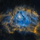 M8 - Lagoon Nebula (SHO),                                Frank Breslawski