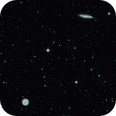 The tale of the owl on the surfboard: M97 and M108 (Owl Nebula and Surfboard Galaxy),                                Mau_Bard