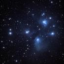 M45 Pleiades,                                Greg Derksen