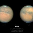 Mars 1st August 2018 the day after closest approach,                                Niall MacNeill