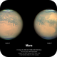 Mars 1st August 2018 the day after closest approach,                                Niall MacNeill