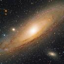M31, Andromeda Galaxy (HaLRGB),                                Ruben Barbosa
