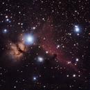 Horsehead nebula B33 + IC434,                                Adrià Igualada
