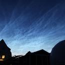 Mittsommernacht 2019 über meiner Sternwarte,                                Horst Twele