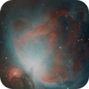 Orion Nebula Mosaic Narrowband,                                Girish