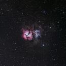 The Trifid Nebula, Messier 20, in Sagittarius,                                astropical