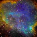 IC 1848 Soul Nebula (detail),                                Francois Theriault