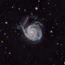 Messier 101 (The Pinwheel Galaxy),                                WJM Observatory