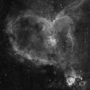 Heart Nebula in HA,                                georgian82