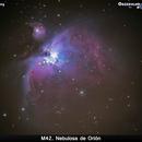 Nebulosa de Orión,                                moideneb