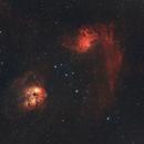 Flaming Star Nebula (Narrowband),                                pcyvr