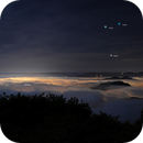 Genoa covered by clouds,                                Giorgio Ferrari