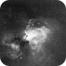 M17 - Swan Nebula,                                stevewinston