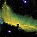 Horsehead nebula Narrow band,                                Christopher Maier