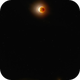 Moon eclipse with Mars,                                Arno Rottal