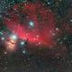 NGC 2024 and B 33 wide field.,                                GALASSIA 60