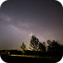 Milkyway at my observation place,                                Christian Dahm