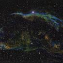 Veil nebula C34 SHO,                                Marc