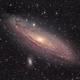 M31 Andromeda Galaxy (400mm),                                star-watcher.ch