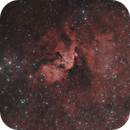 LBN 557 or SH2-163 : the false Tulip nebula - HOO,                                Andreas Zeinert