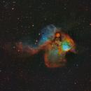 NGC2467: The Skull and Crossbones Nebula in SHO-LRGB,                                equinoxx