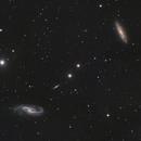 NGC4536 and NGC4527,                                Neal Weston