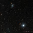 M53 and the Irregular NGC 5053,                                Paddy Gilliland