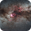 Milky Way Centered on North America,                                Bill Mark
