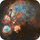 Cats Paw NGC6334 (SHO),                                jlangston_astro