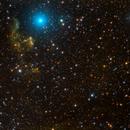 IC63 & IC59 & SH2-185 in SHO-RGB,                                Andreas Dietz