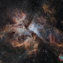 NGC 3372, The Carina Nebula,                                Ruben Barbosa