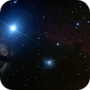 Flammennebel, Pferdekopfnebel und NGC 2023 um den Stern Alnitak im Orion,                                Stefan Wandrei