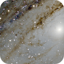 M31 Andromeda Galaxy core,                                Dean Fournier
