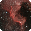 NGC7000, Cygnus Wall,                                Marcel van den Bosch